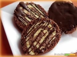 Girelle alla crema di nocciole e cioccolato