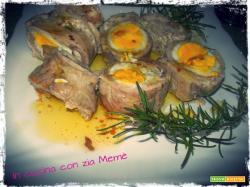 Rollè di carne con uova