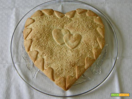 Torta salata facile per San Valentino
