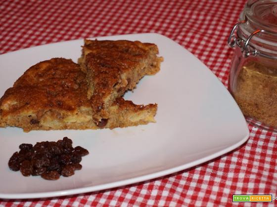 Torta Integrale di Mele: senza latte, burro e uova. [Ricetta Vegana]