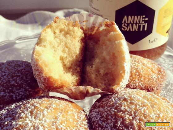 Muffin panna e miele