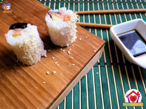 Sushi – Uramaki