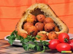 Polpette con pane di Matera