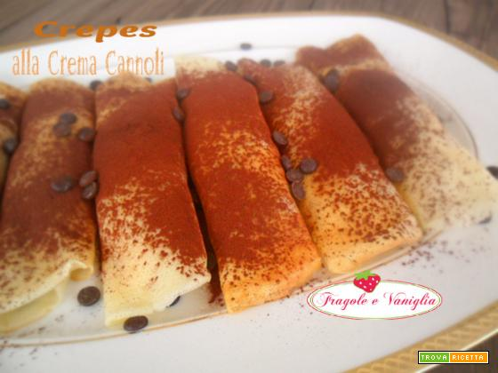 Crepes alla Crema Cannoli