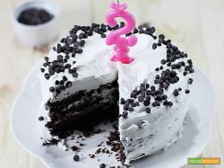 Cloud Cake [madeira cake al cioccolato e frosting alla ricotta e panna] 2 anni di blog, 2 anni di me