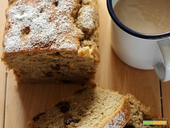Banana and hazelnuts bread [ senza burro – zucchero – latte ]