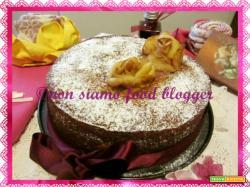 Torta con purea di mele (ricetta senza burro)