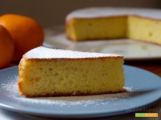 Torta di arance e mandorle