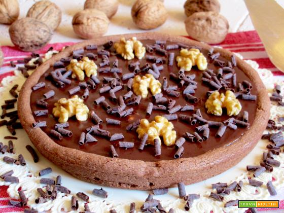 Crostata al Cioccolato e Noci