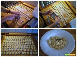 Gnocchi di farina al burro versato