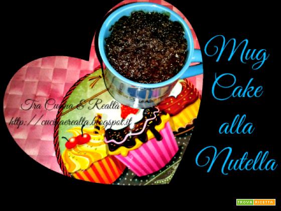Mug cake alla Nutella