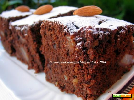 Torta Cioccopera... scientifica, sana e goduriosa!