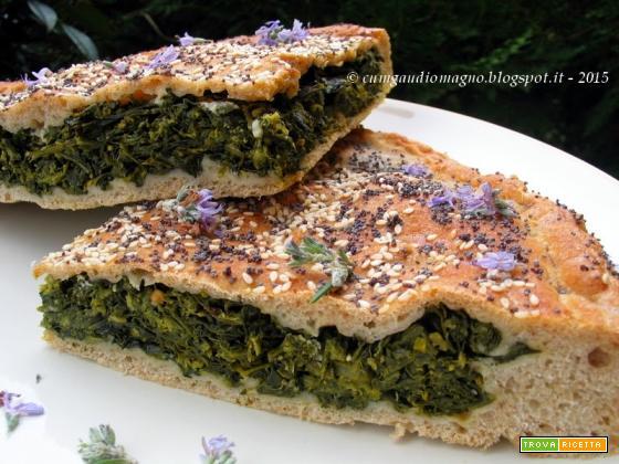 Pizza di verdura, con i semi che non si staccano... per un'idea di ricetta!