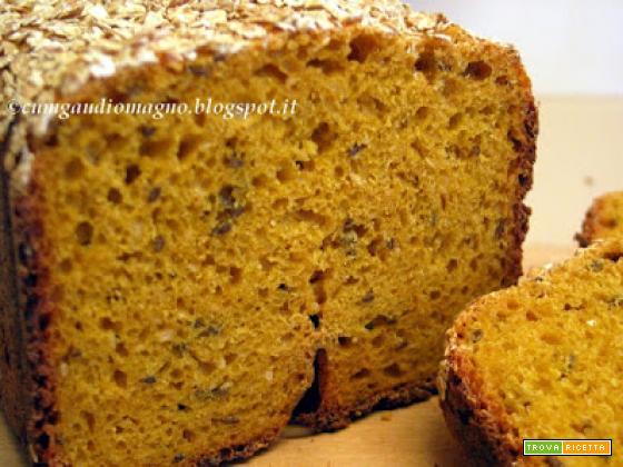Bauletto pandicarota al farro e grano duro a lievitazione naturale