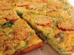 Torta di Pane Broccoli e Salsiccia