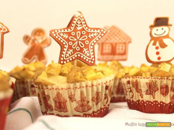 Muffin leggeri Mela e Cannella