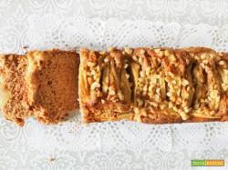 Plumcake Vegano Mele e Farina di Castagne