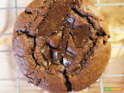 Vegan Muffin al Cioccolato (Gluten free)