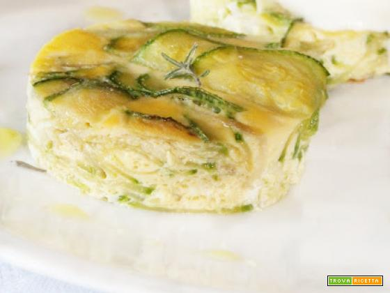 Mini Frittatine di Zucchini con Squacquerone e Timo