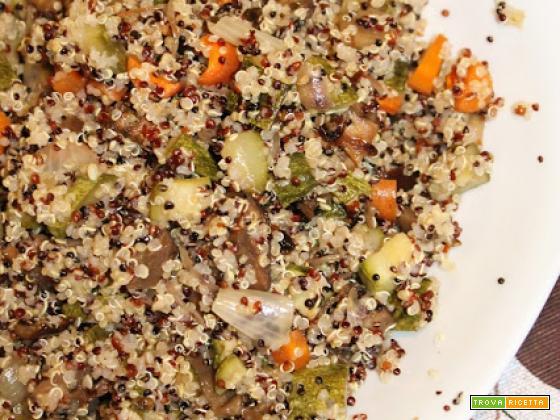 Lunch Box: Quinoa e Rostì di Verdure