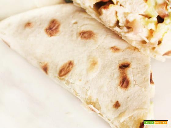 Chicken Wrap e un'altra ricetta per la rubrica Lunch Box!