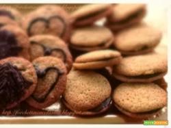 Tris di biscottini al cocco e cioccolato