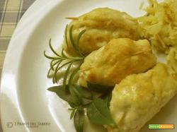 Fagottini di pollo alle erbe mediterranee