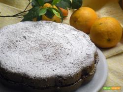Torta all'arancia e frutti di bosco