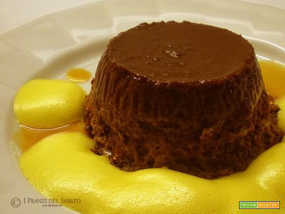 Budino di cioccolato ed amaretti