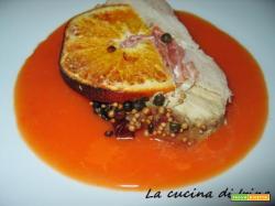 Carrè di maiale all'arancia