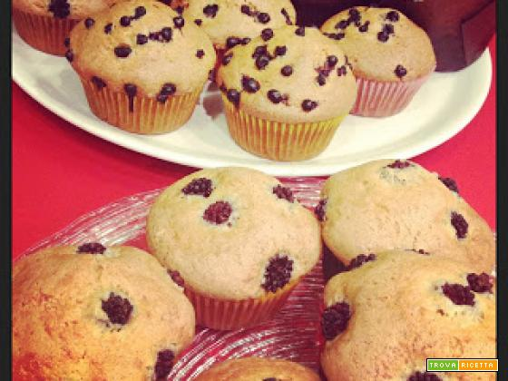 i miei muffins in trasferta...