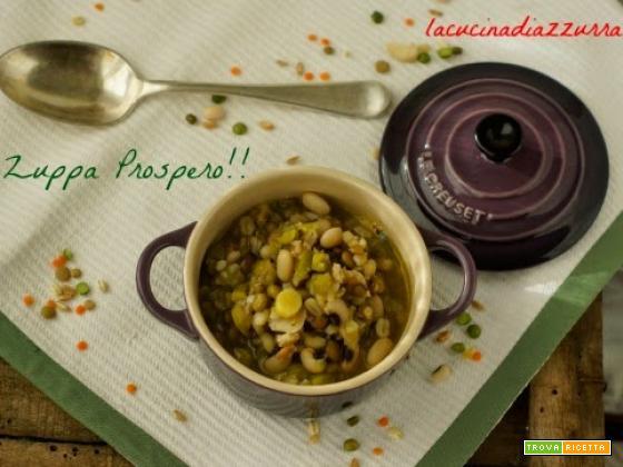ZUPPA PROSPERO…coriandoli per legumi!