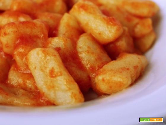 Gnocchi di patate...ricetta di famiglia