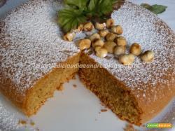 Torta di nocciole Piemontese con farina integrale