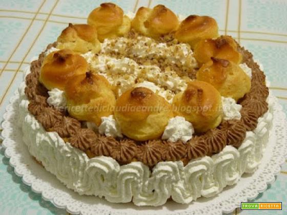 Torta tipo Saint Honorè
