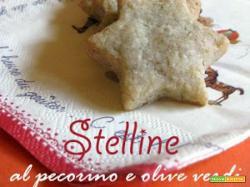 Stelline al pecorino e olive verdi