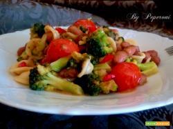 Orecchiette con broccoli e fagioli