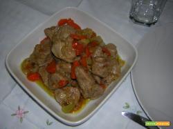 Bocconcini di vitello con salsa di soia