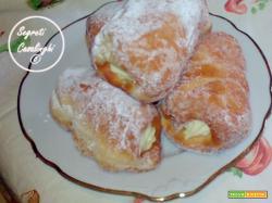 cartocci crema, cartocci siciliani, cartocci con la crema ricetta