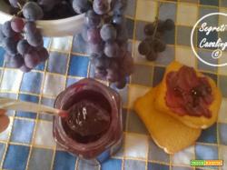 marmellata uva fragola,confettura uva fragola, marmellate