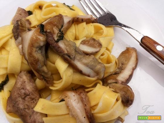 Pappardelle ai Funghi Porcini Freschi