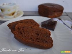 Plumcake al cacao soffice e goloso