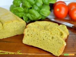 Plumcake salato al Pesto