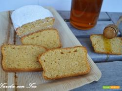 Plumcake yogourt e miele
