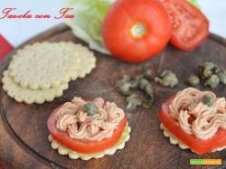 Snack alla mousse di tonno pronte in 5 minuti
