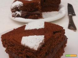 Torta al cioccolato con Crema di Mascarpone e Nutella
