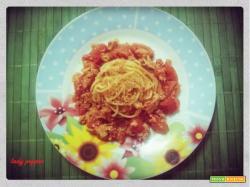 Spaghetti ai due rossi