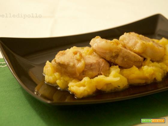 Filetto di maiale alle mele renette