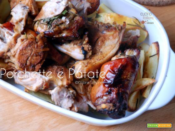 Porchetta e patate arrosto