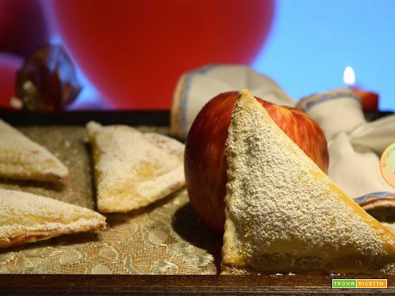 fazzoletti al cuore di mela